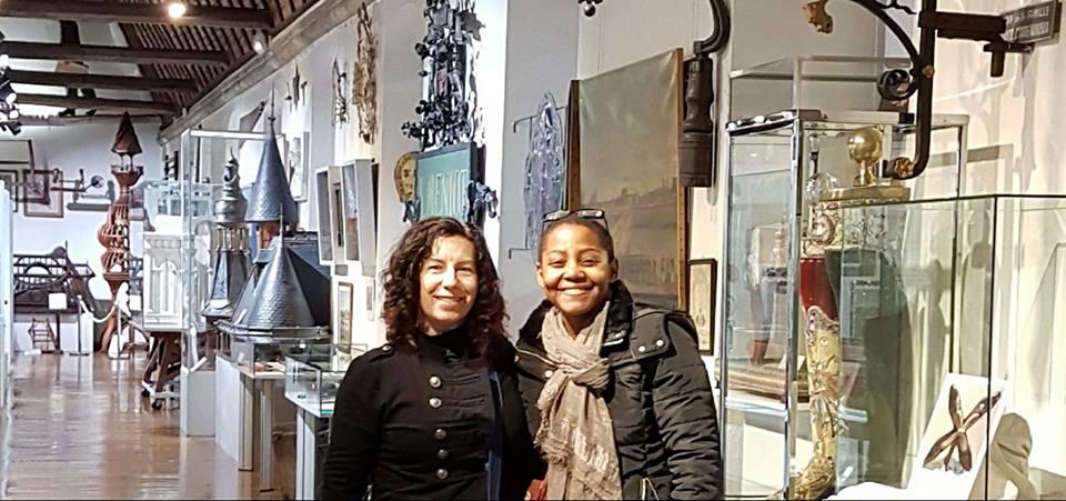 Visite de Capozzi et Goh au Musée du Compagnonnage Tours France
